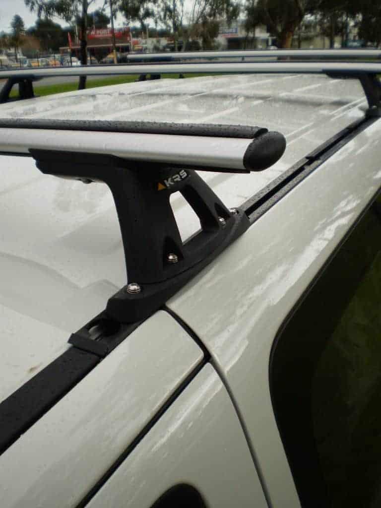 Hyundai Iload Roof Racks Trackmount System Krs Australia