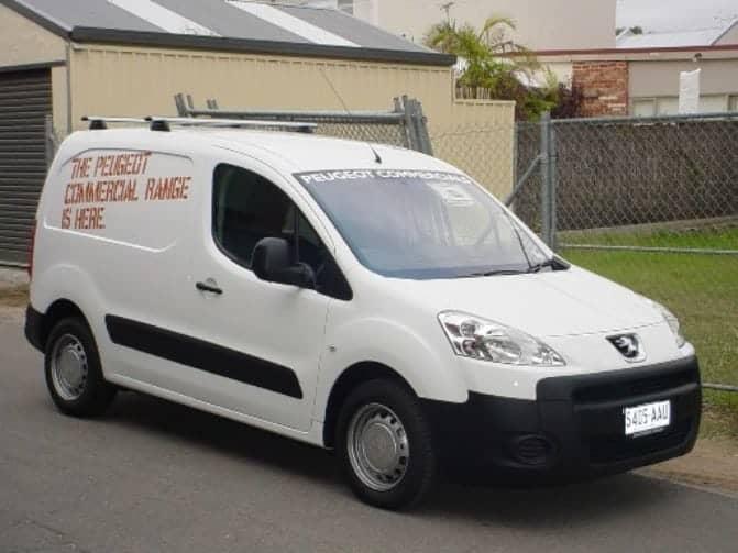 Peugeot Partner Roof Racks Trackmount Krs Australia